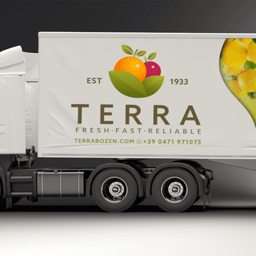 Trailer Wrap for Grocer