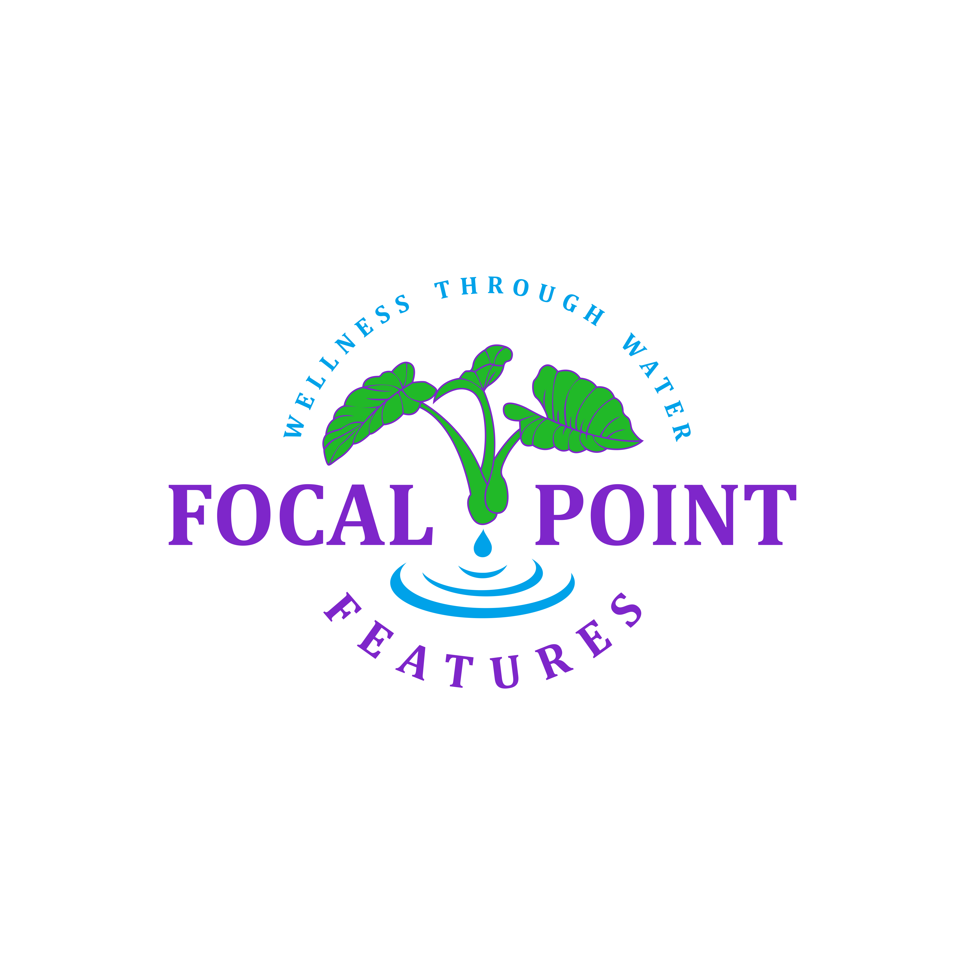 Waterfall specialists need fun, clean logo!
