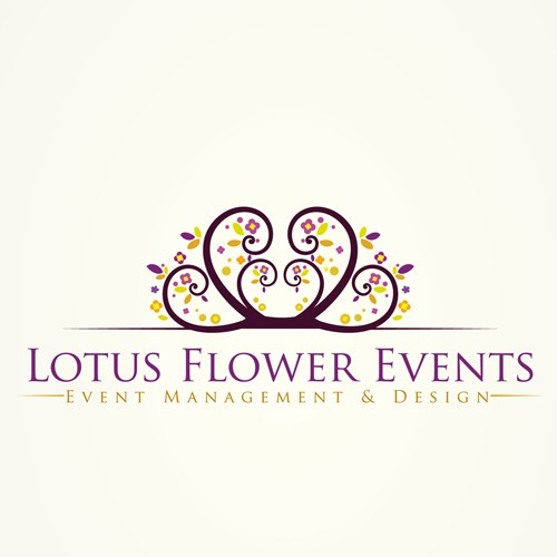 Create the next logo for Lotus Flower Events