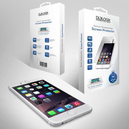packaging for Screen Protector DIJILOGIX
