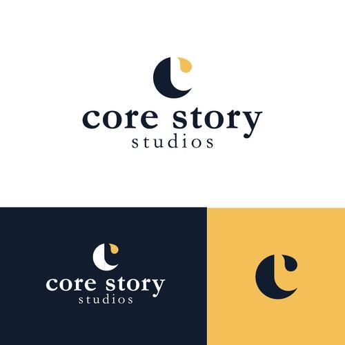 C consulting logo | Visual Storytelling logo