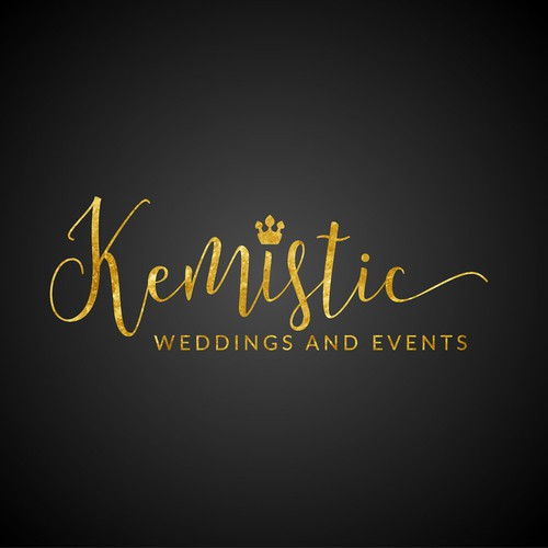 Logo for wedding service