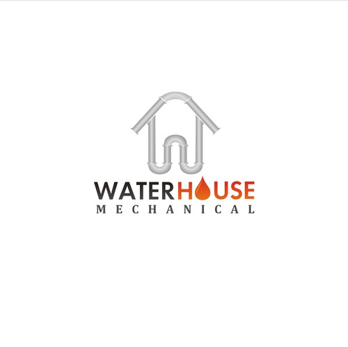 Create the next logo for Waterhouse Mechanical