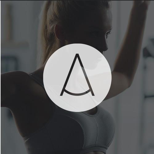 Minimalistic Logo concept for Athletics Specialist Center