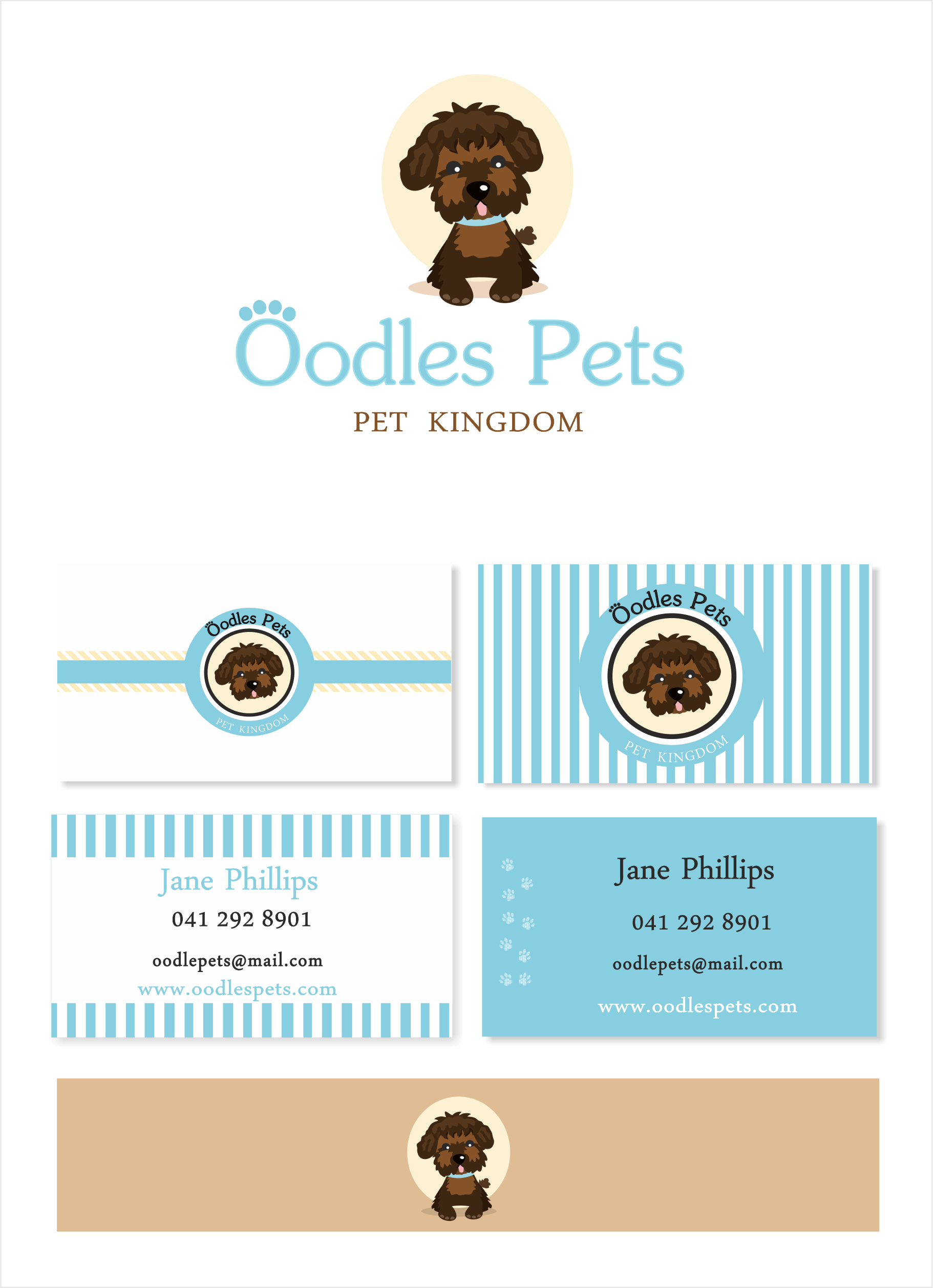 Looking for oodles of designs to launch Oodles pets