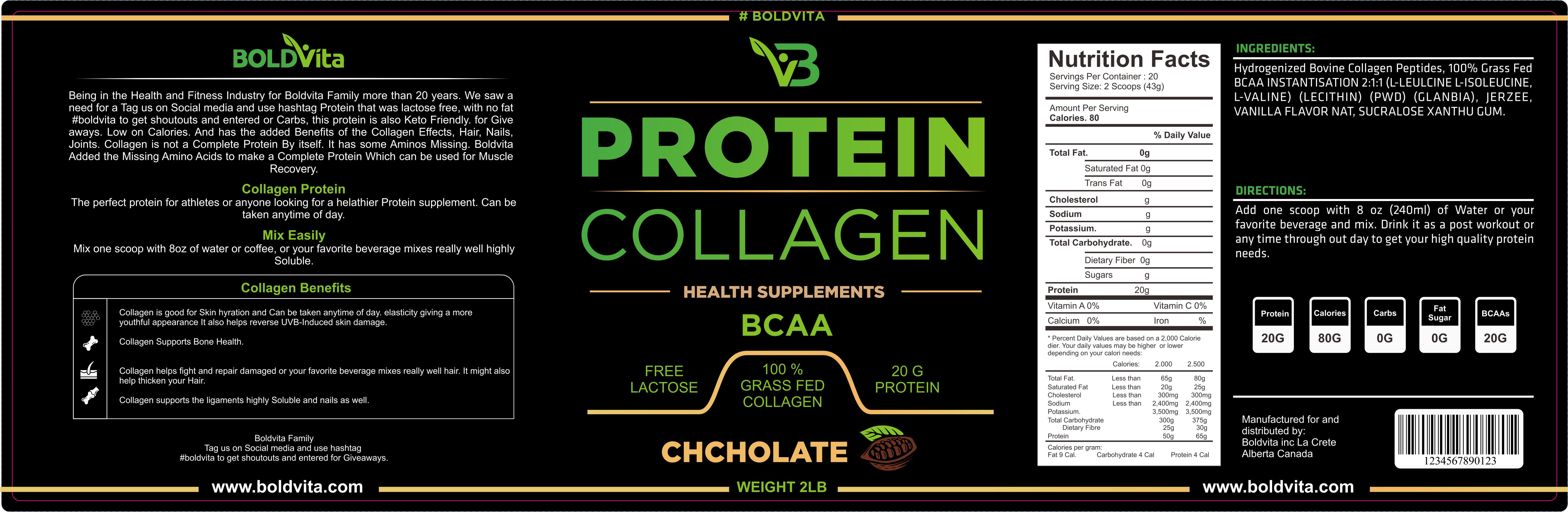 design protein supplement tub