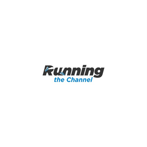 Logo design for Running the Channel