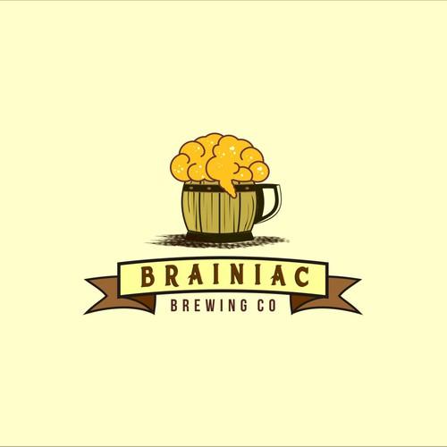 Logo for Brainiac Brewing Co.