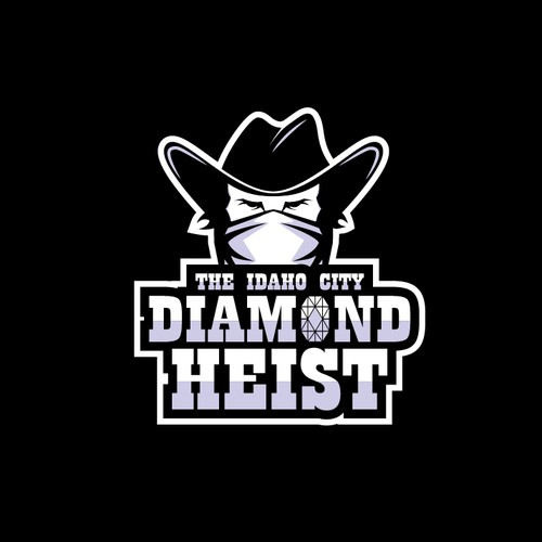 Mascot logo for game event