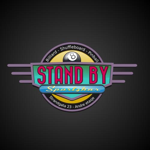 vintage bar logo