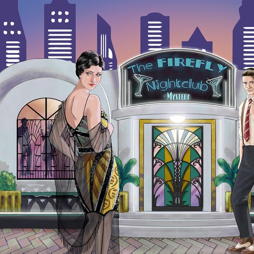 1920s style mystery game
