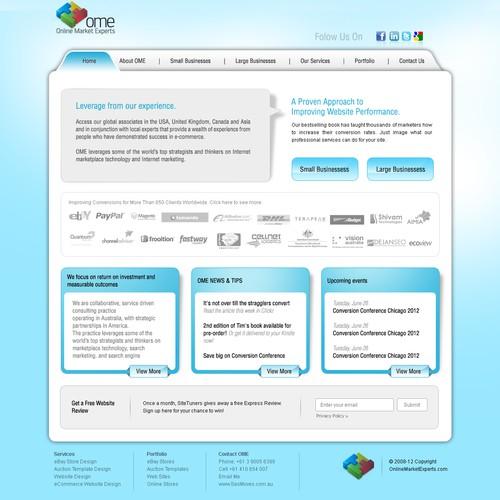 website design for Online Market Experts