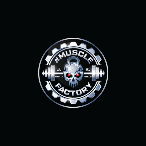 Muscle Factory - Logo Design