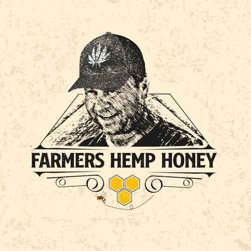 Farmers hemp honey