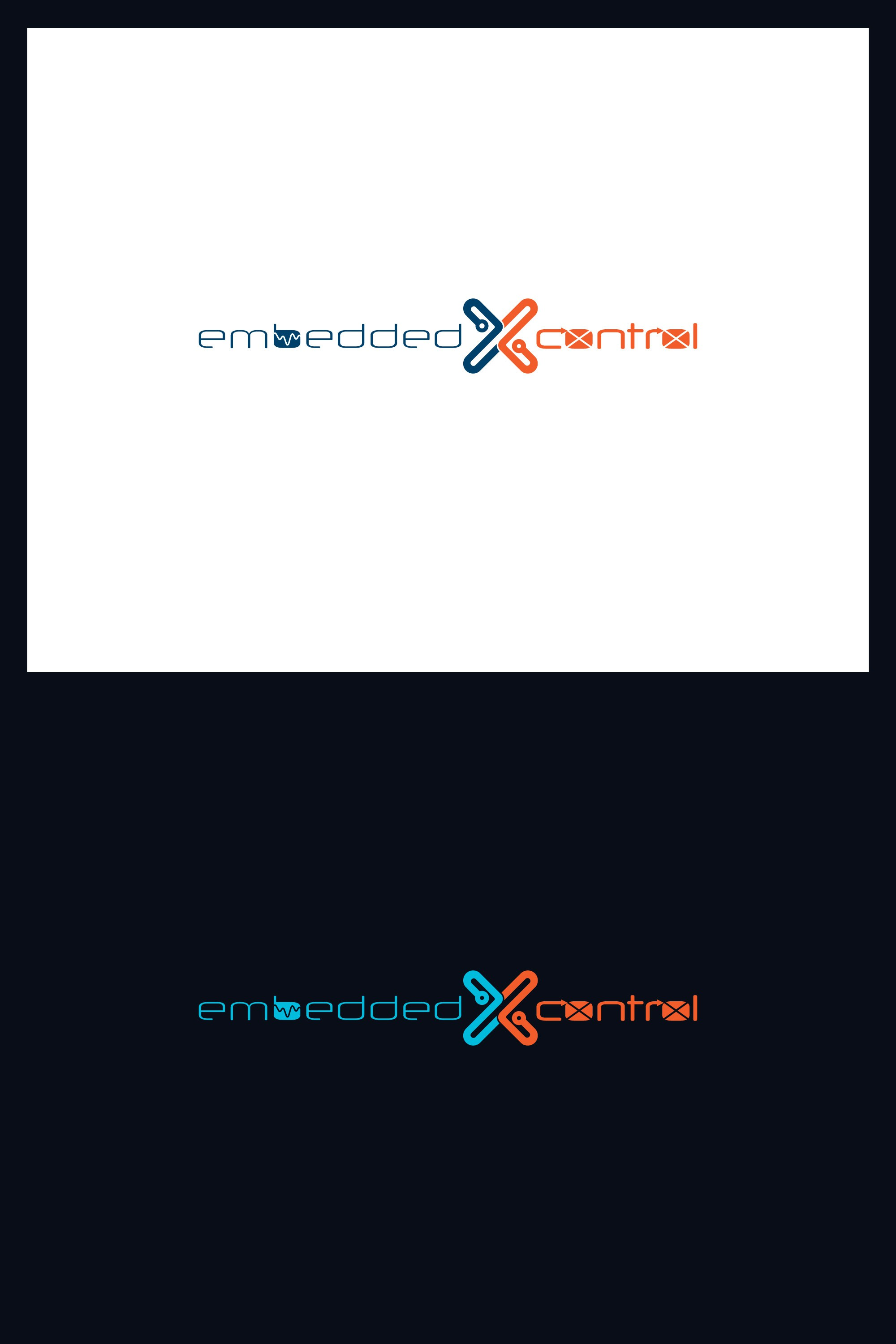 """Create a """"science cool"""" logo for the technology website embeddedXcontrol"""