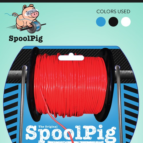 Packaging Design for an Amazing New Product - SpoolPig