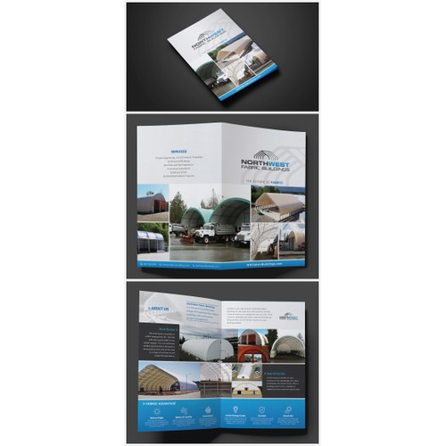 Four Page Brochure for new construction company