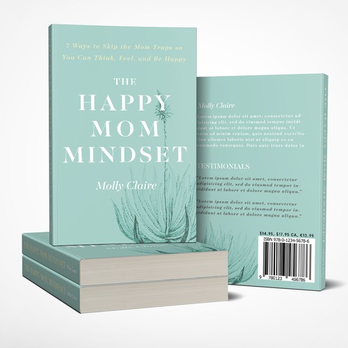 Book Cover design for happy mothers