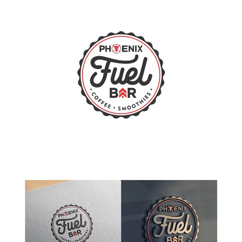 Phoenix Fuel Bar - logo baru