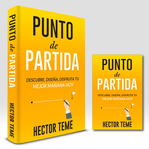 "powerful design for powerful book ""Punto de Partida"""""