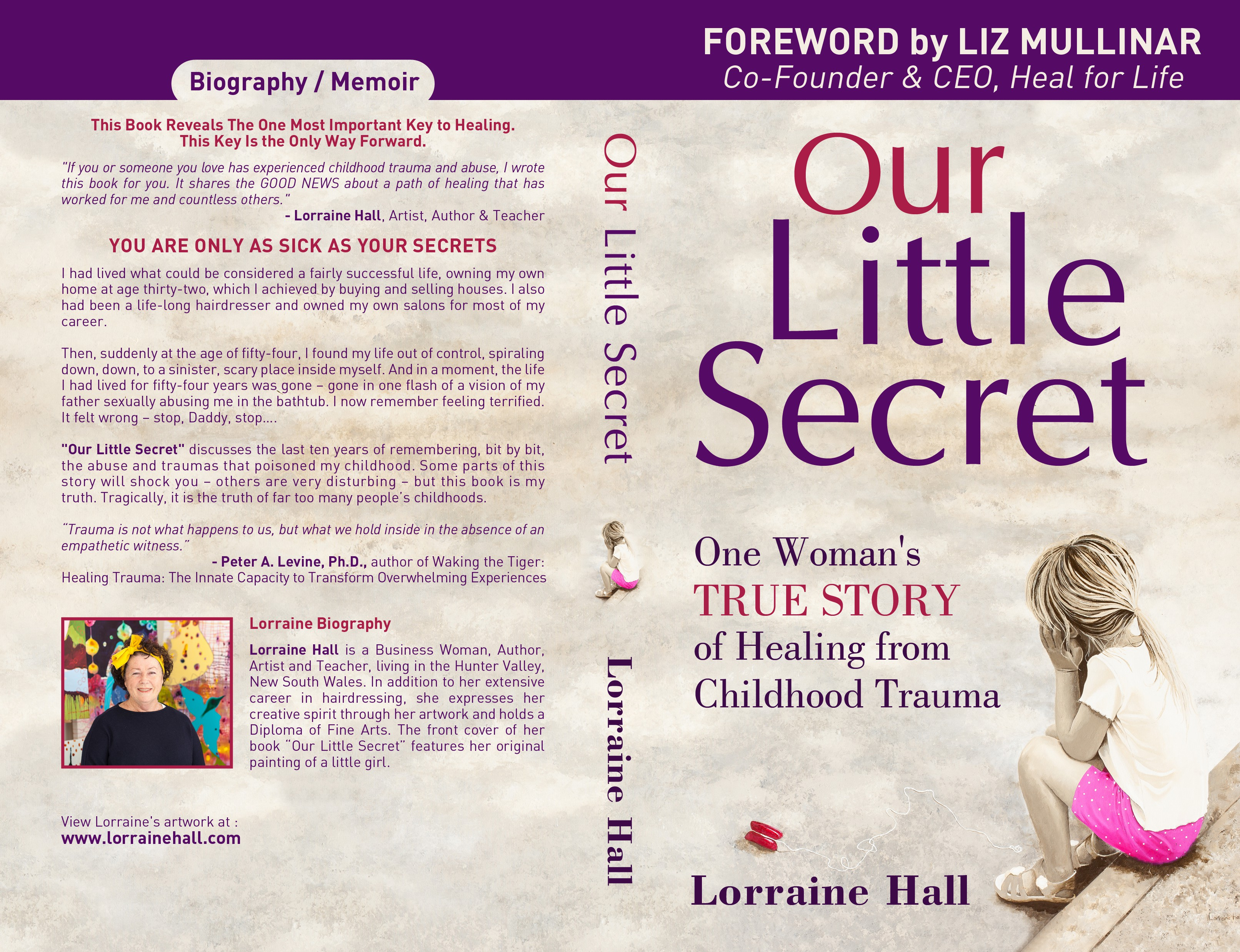 Inspiring True Story of One Woman's Healing from Childhood Abuse