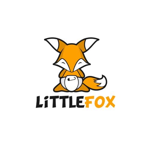 funnys fox charakter logo