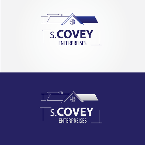 Professional Commerical construction logo for S.Covey Enterprises