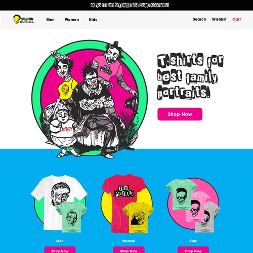GoPunkYourself.com Website