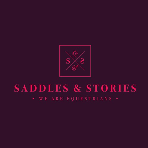 Classic Logo for Equestrian Online Store