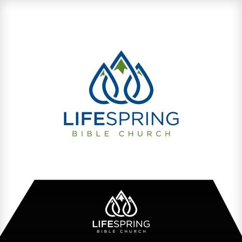 LifeSpring Bible Church in Alaska Logo
