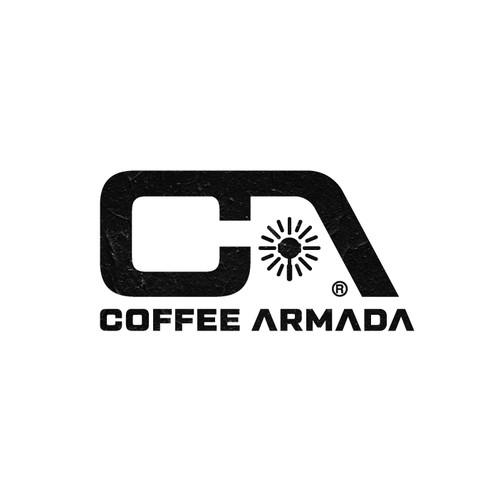 Coffee Armada logo design