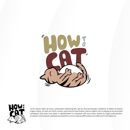 Logo concept for How To Cat