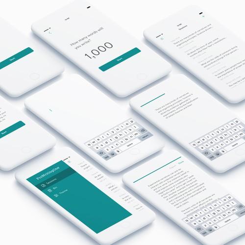 Writing App Concept