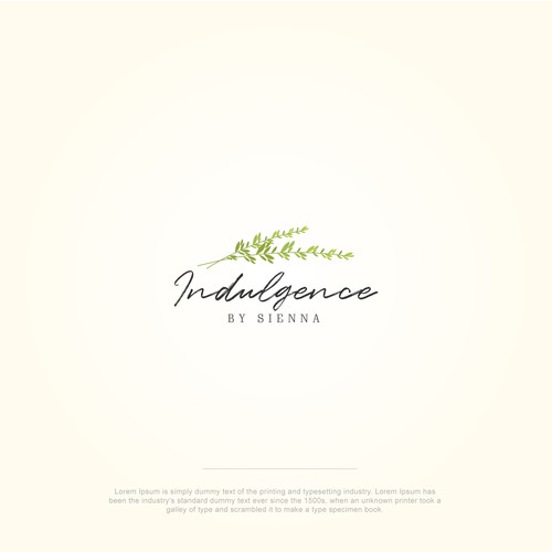 Floral style logo