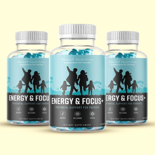 Label design for nutritional product to change parents' lives