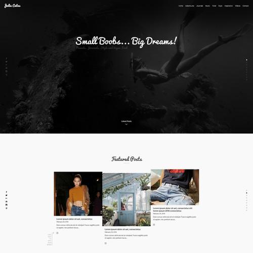 Modern Blog Design