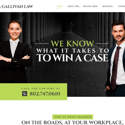 Attorney & Law website design