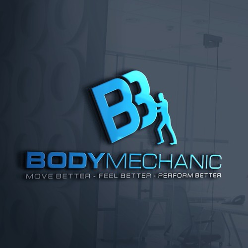 Logo for body mehanic