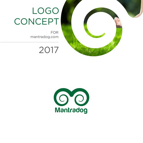M letter Logo for Yogo mat manufacturing company
