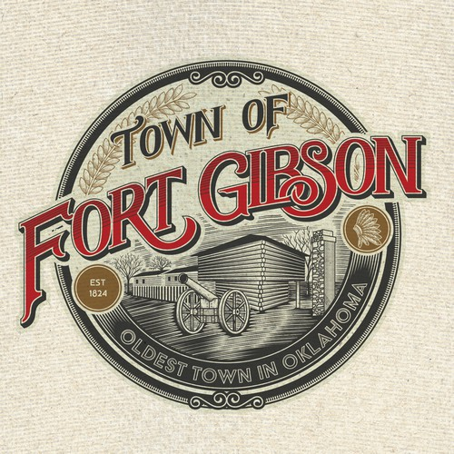 Logo Concept For Town Of Fort Gibson