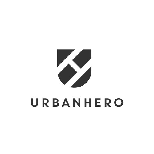 Logo for UrbanHero cleaning service