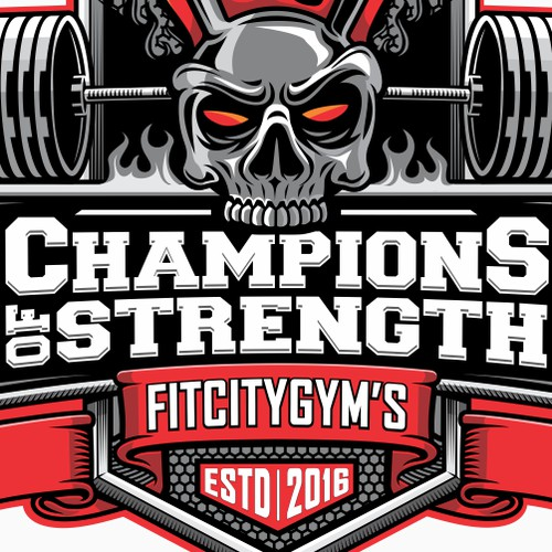 Logo for a Strength And Conditioning Facility