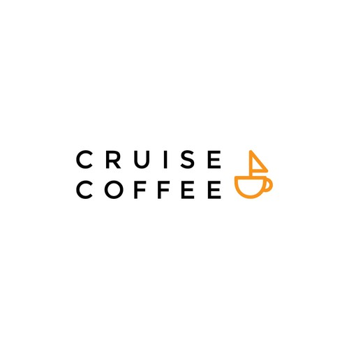 Simple coffee shop logo concept