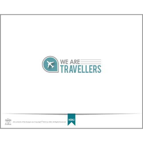 Flat minimal design Logo for a Travel website! (travelling, adventure, modern, backpackers, globe)
