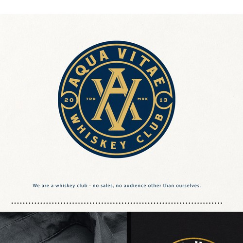Logo Design for Whiskey Club