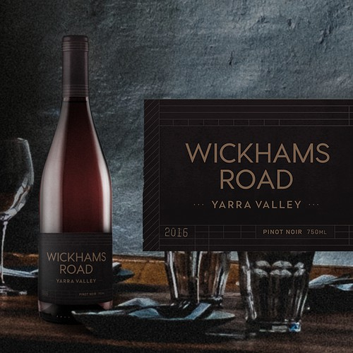 Wickhams Road Wine Label