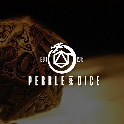 pebble and dice