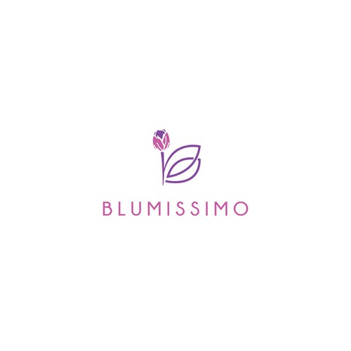 Elegant logo concept for Florists