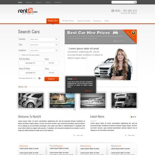 Rent24.com needs a new website design