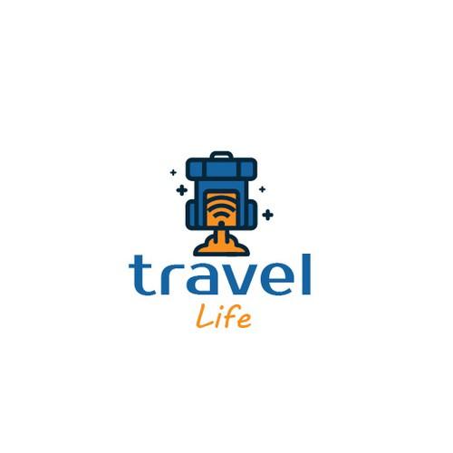 Travel Life Logo